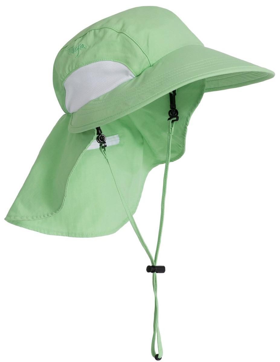 Sombrero De Ala Ancha Sol Adulto Tuga (upf 50+), Verde Cl