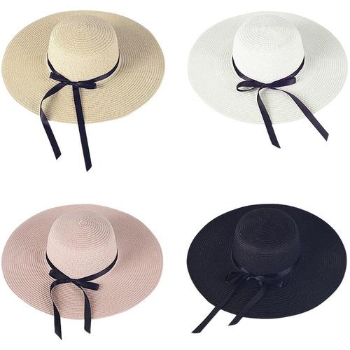 052b74b433438 sombrero de ala grande para mujer sombrero de paja plegable. Cargando zoom.