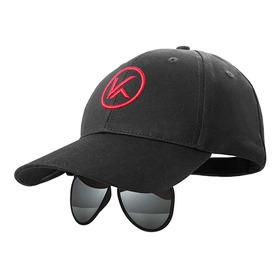Sombrero De Béisbol Con Gafas Polarizadas Con Tapa Para Gafa