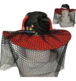 Sombrero De Catrina Elegante Fiesta Halloween Muertos
