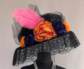 Sombrero De Catrina Y Accesorios