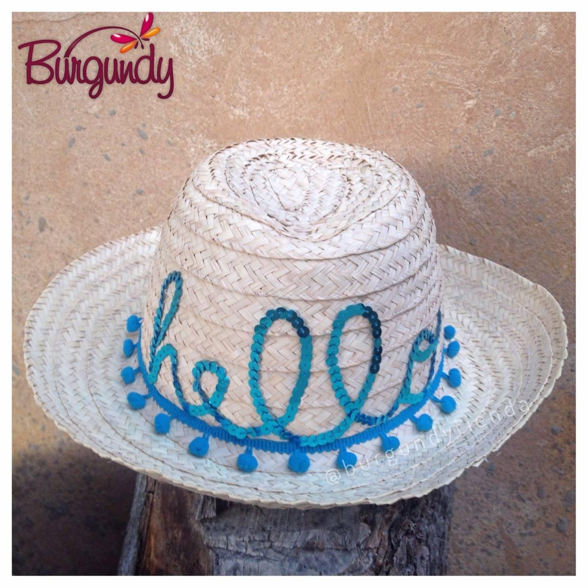 Sombrero De Dama Personalizado 9f128993828