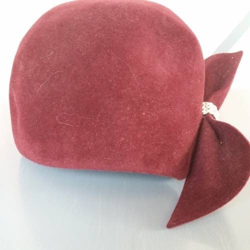 sombrero de epoca dama