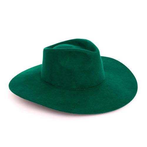 sombrero de fieltro de lana justiniano made in chola