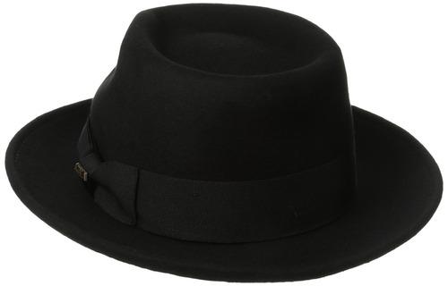sombrero de fieltro de lana repelente de agua crusable de