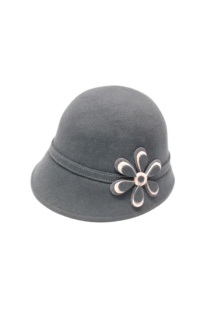 cfa77bfe167cc sombrero de fieltro negro para mujer importado de ecuador. Cargando zoom.