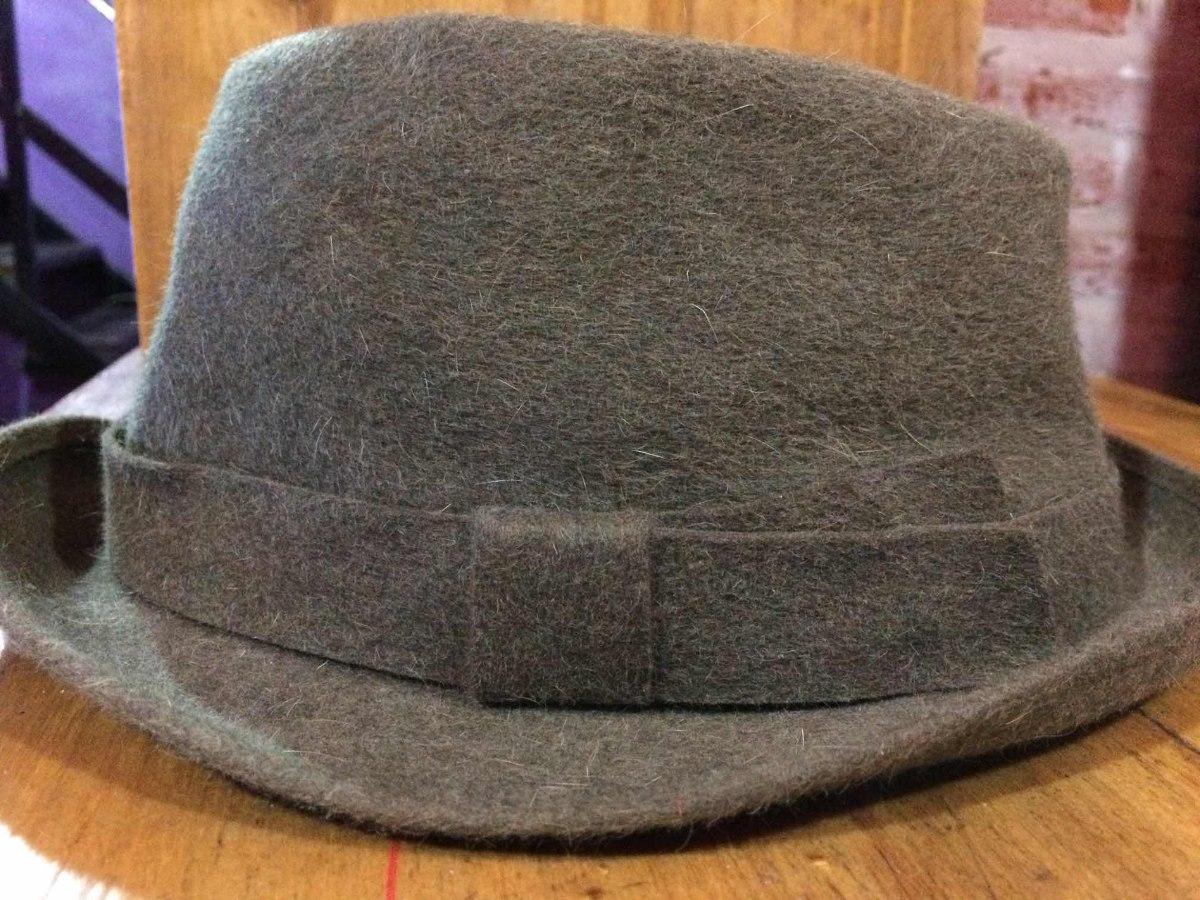 a5868985a4346 sombrero de hombre borsalino italiano color verde. Cargando zoom.