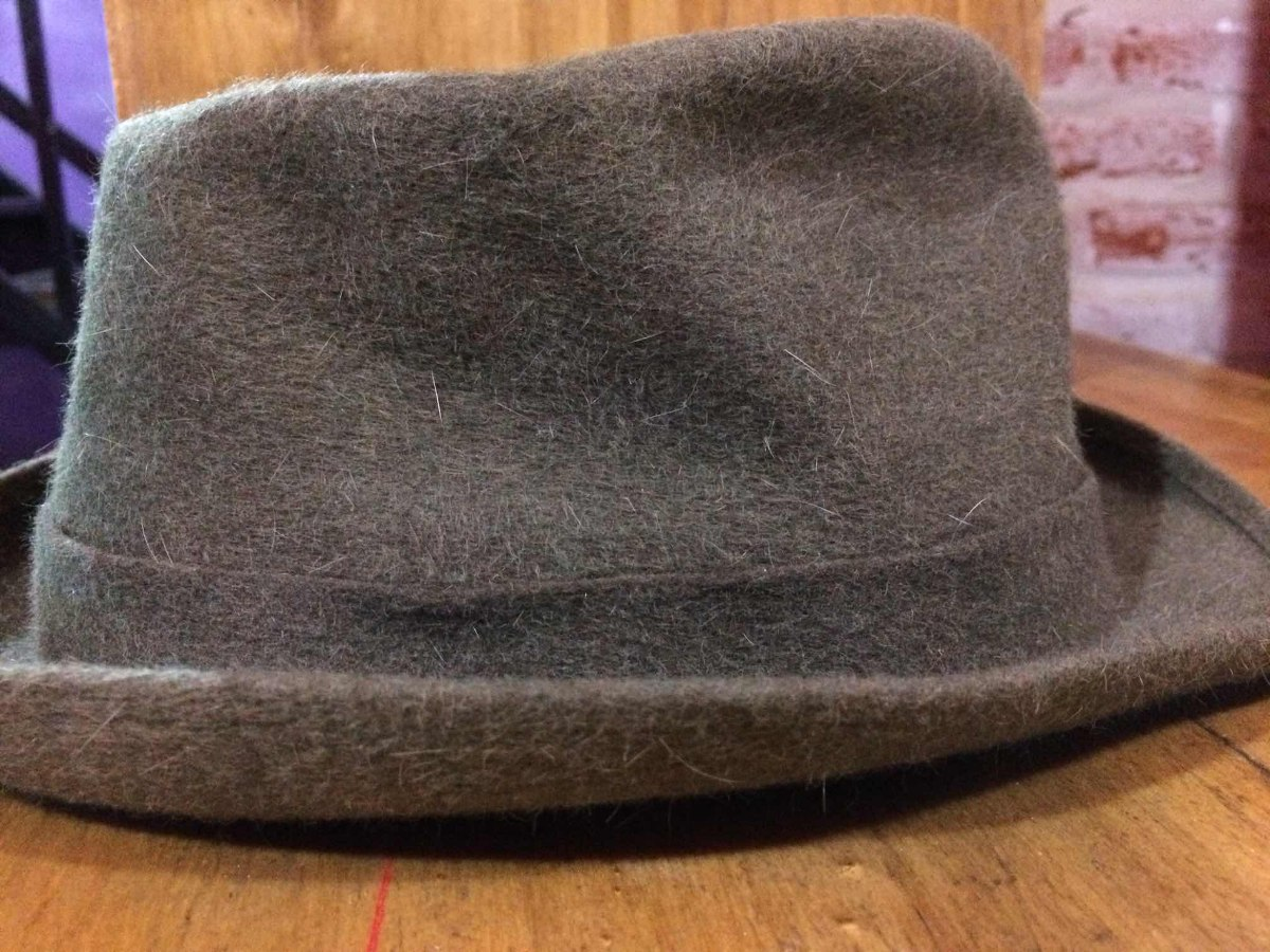 sombrero de hombre borsalino italiano color verde. Cargando zoom. 364f65fddbf