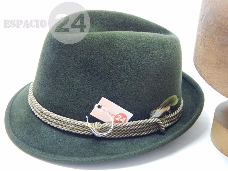 66ab7aebf9531 Sombrero de hombre borsalino italiano color verde con cordón cargando zoom  jpg 800x600 Italiano sombrero para