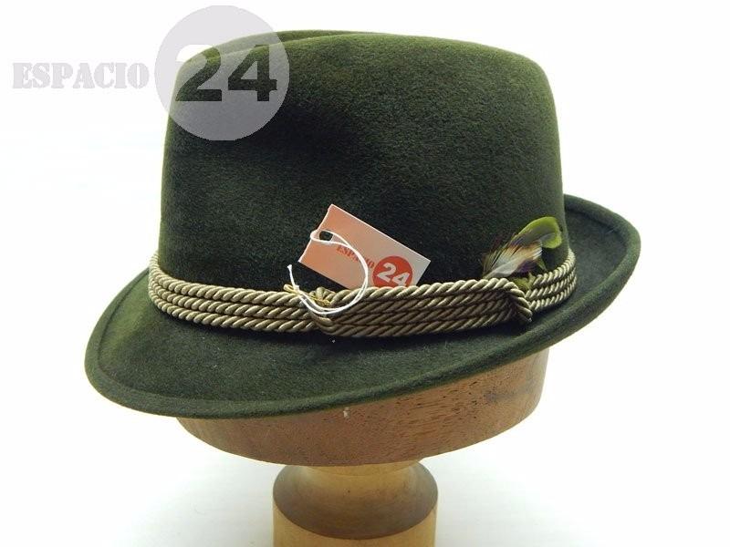 Sombrero de hombre borsalino italiano color verde con cordón cargando zoom  jpg 800x600 Italiano sombrero para db052fc436c