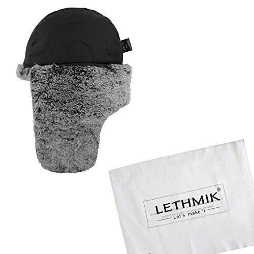 sombrero de la caza de la piel del faux de invierno de lethm