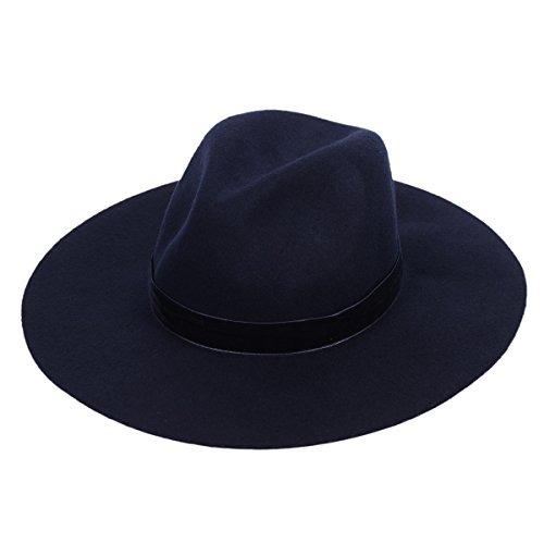 Sombrero De Lana Fedora Sombrero Panamá Estilo De Moda Ap... -   159.900 en  Mercado Libre d7cf3a858bc