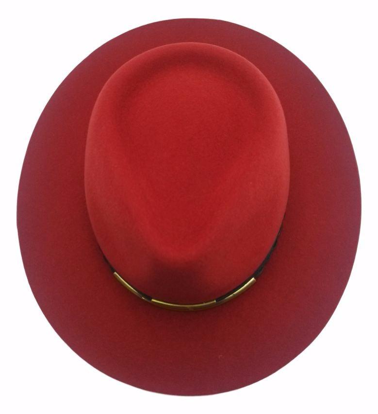 Sombrero De Mujer Kot Modelo Maria Fieltro De Lana  cbc3c789b98
