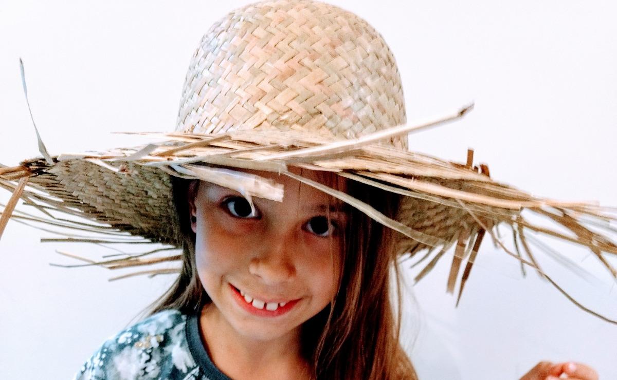 ba380210d71a1 sombrero de paja campesino adulto infantil unisex. Cargando zoom.
