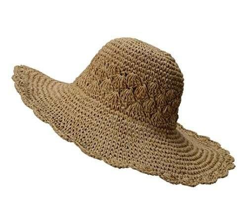 sombrero de paja de urban coco para mujer sombrero de playa