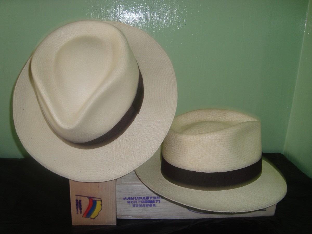 1fd22fb784088 Sombrero De Paja Toquilla Original Montecristi Fino - U S 150