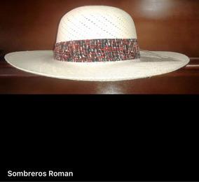 c3b2c4d2 Sombrero De Paja Toquilla Para Mujer Toda Talla Nuevos