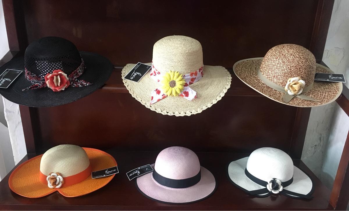 2ed9a9297a057 sombrero de paja toquilla para mujer toda talla nuevos. Cargando zoom.