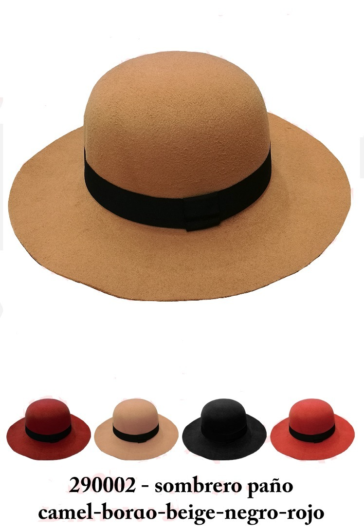 calidad asombrosa liberar información sobre diseño distintivo Sombrero De Paño Para Dama...