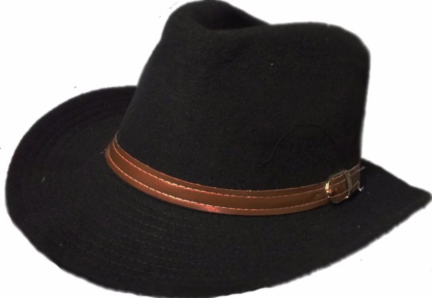 Sombrero De Paño Tipo Gaucho O Gauchezco -   599 94a80d6d70a