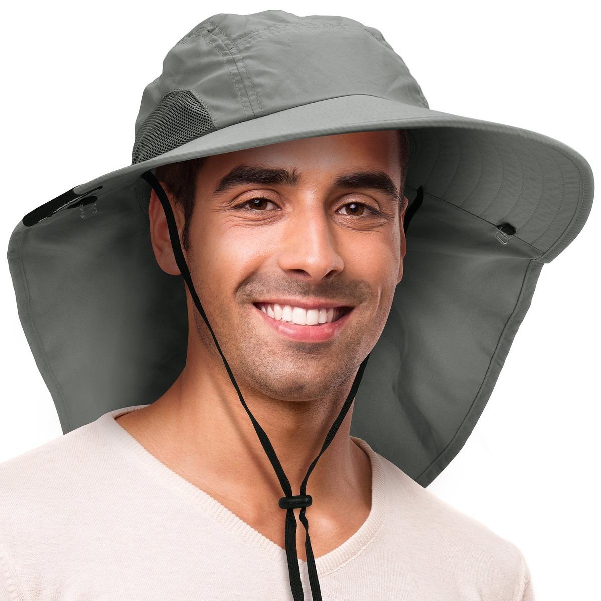 Sombrero De Pesca Al Aire Libre De Solaris Con Cubierta D - S  215 ... a3b3afcdb52