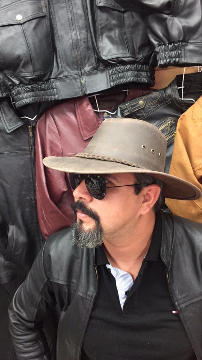 c6eb32de8bb81 Sombrero De Piel Estilo Indiana Jones -   600.00 en Mercado Libre