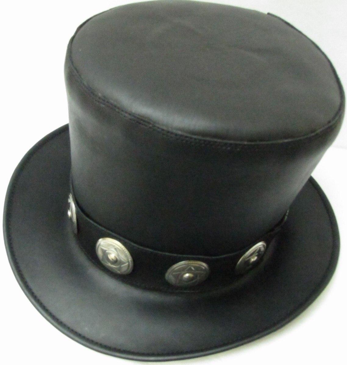 Sombrero De Piel Estilo Slash -   720.00 en Mercado Libre 8f9bf94694e