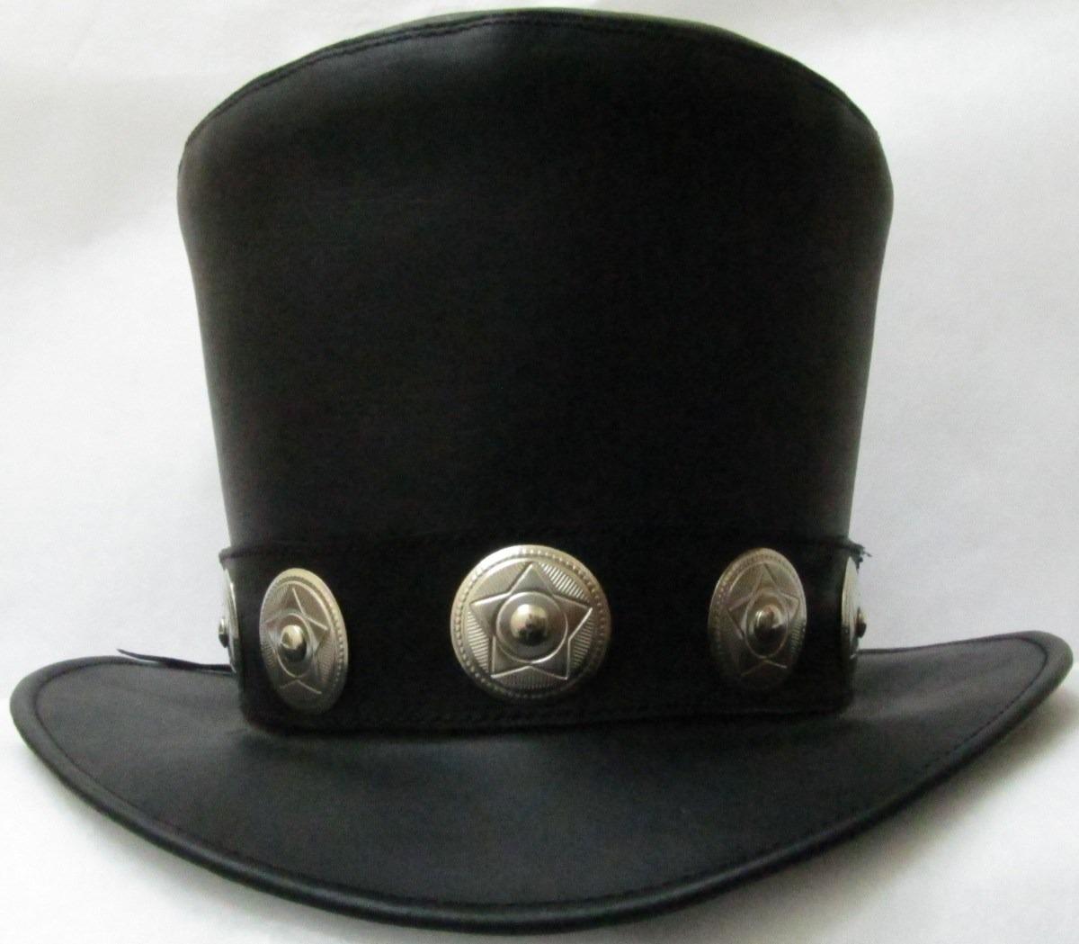 Sombrero De Piel Slash -   690.00 en Mercado Libre 1849cb9b4cd