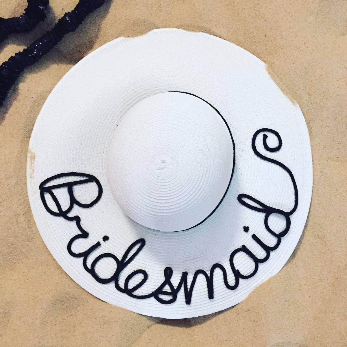 Sombrero De Playa Personalizado -   320.00 en Mercado Libre aa1a3366578