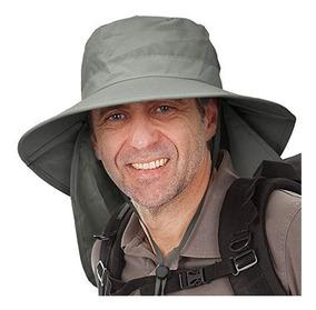 37e2a49071dd Sombrero De Proteccion Solar Para Hombre Con Cubierta De Sol