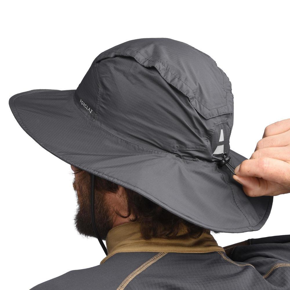 sombrero de trekking en montaña trek 900 impermeable gris. Cargando zoom. 248d9f1ed8f