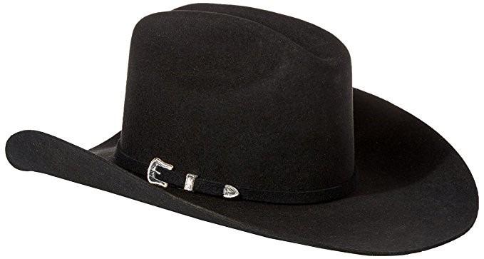 Sombrero De Vaquero De Lana Swoakr-724007 Negro -   498.990 en ... d93423ef412