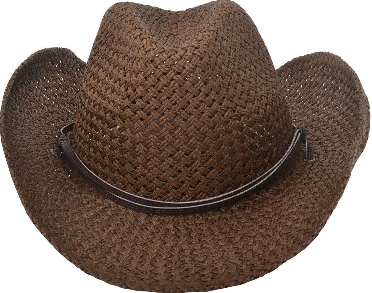 sombrero de vaquero western retro hombres... (chocolate). Cargando zoom. cf92dfc21c91