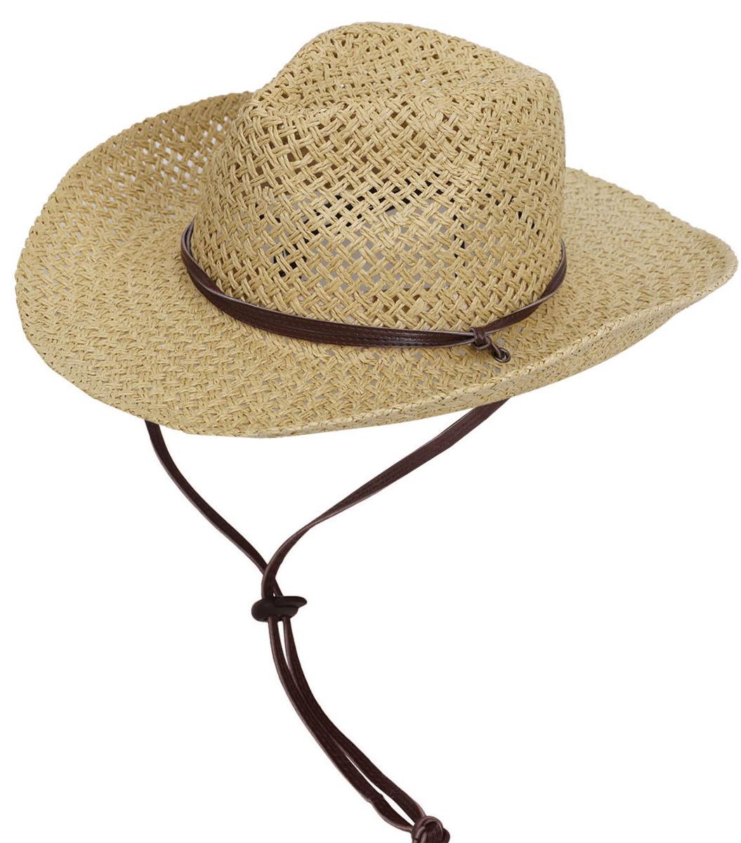 sombrero de vaquero western retro hombres playa... (beige). Cargando zoom. 10a4dcb916c5