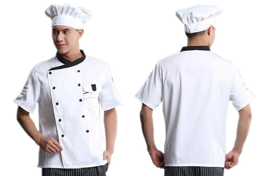 63925e198e429 Sombrero Del Cocinero Elástico Kitchen Cooking Sombrero (1pa ...