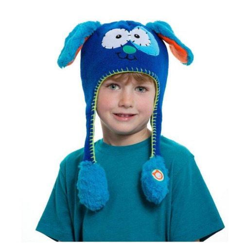 sombrero divertido gorro hat flipper puppy con movimiento mo