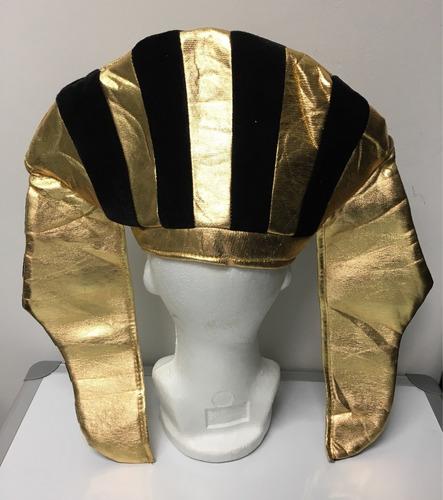 sombrero egipcio cleopatra faraon para disfraz halloween