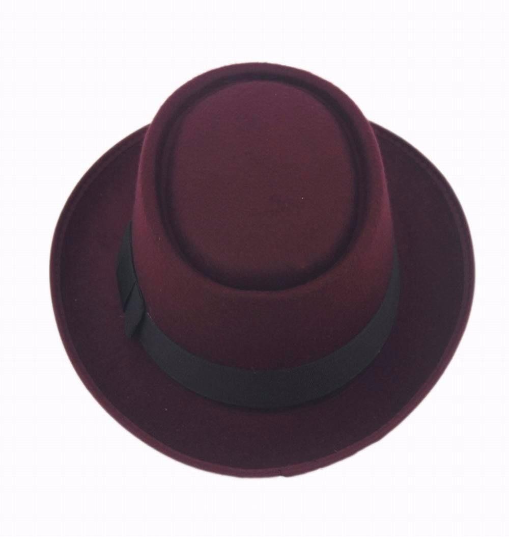 Estilos de sombrero retro con redes faciales