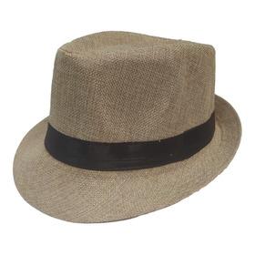 Sombrero Fedora Ala Corta  Gardeliano, Playa, Unisex Adultos