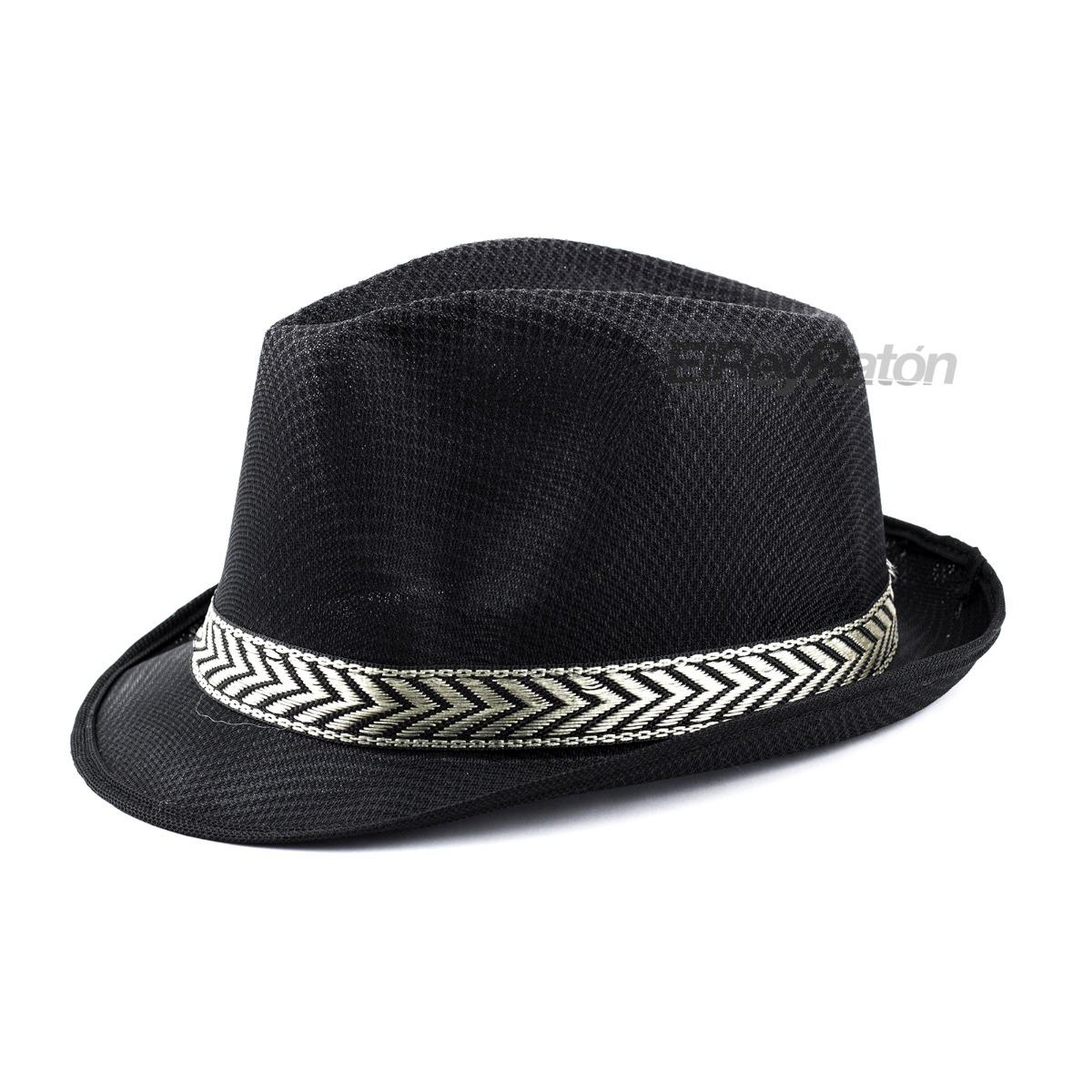 Sombrero Fedora De Tela Diferentes Colores -   49.00 en Mercado Libre e1ce0ea5478f
