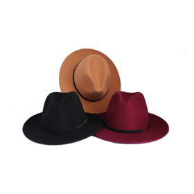Sombrero Fedora En Paño Unisex