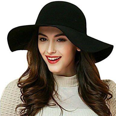 67ad98a455322 Sombrero Fedora Mujer Fashion Hat -   47.800 en Mercado Libre