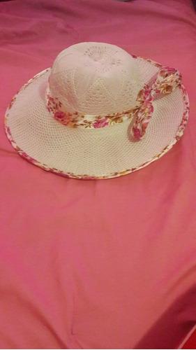 sombrero femenino .santa tecla