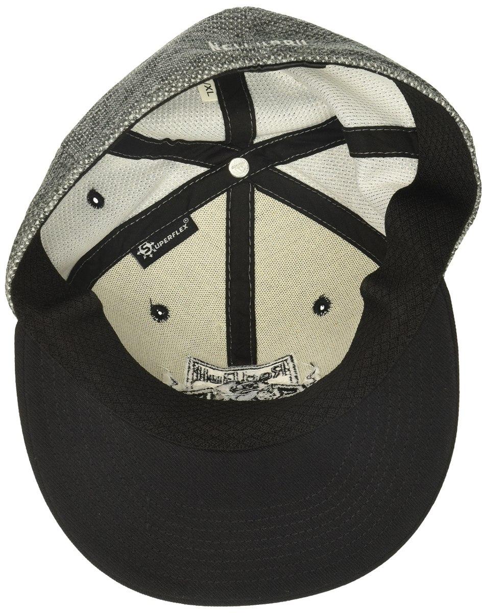Sombrero Flex Con Visera Plana Y Malla Visera Gris New Yo - S  224 ... cfbd5d3b809