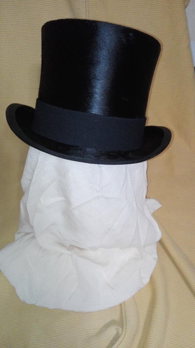 sombrero galera antiguo impecable. Cargando zoom. a5b77e7839b