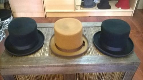sombrero - galera fieltro de lana