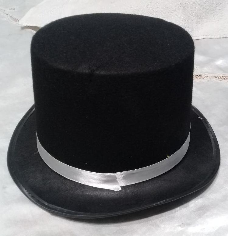 Sombrero Galera Paño Lency Negro -   300 6f9e4df367c