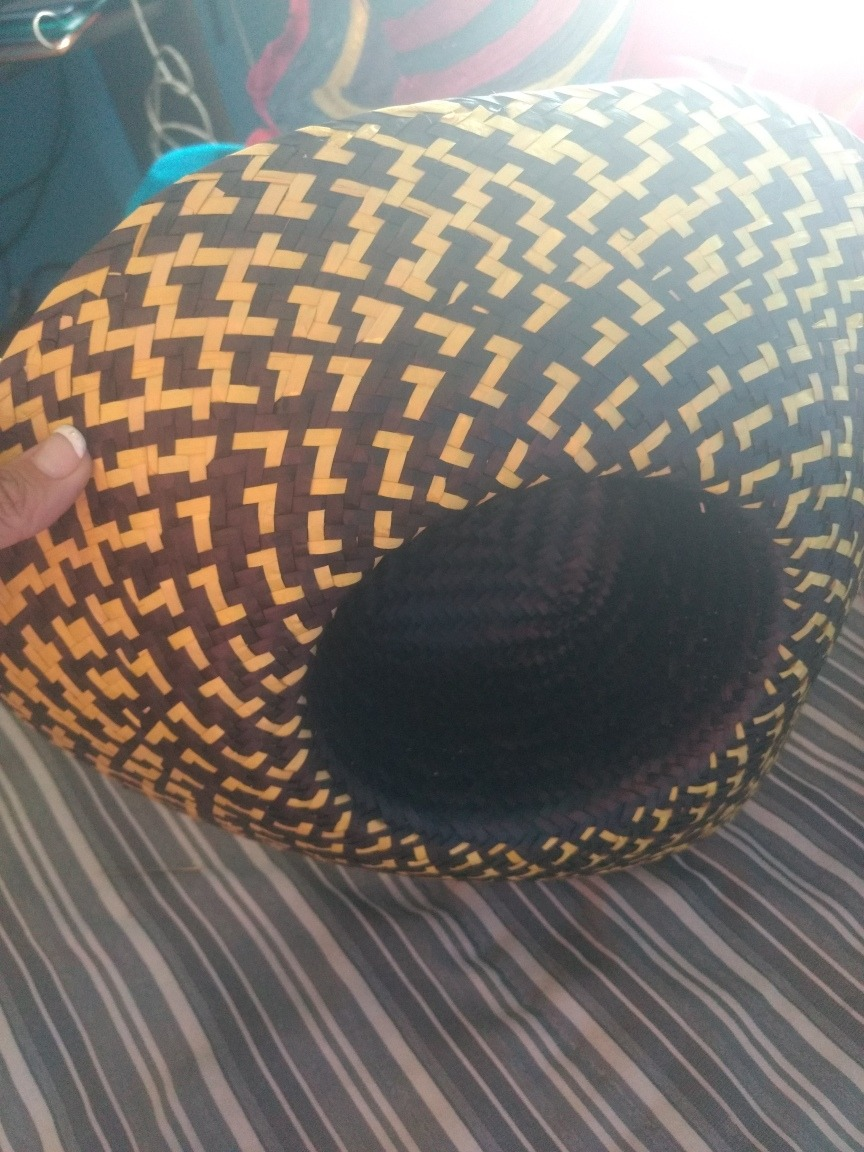 sombrero gorro paja negro y amarillo para disfraz cotillon. Cargando zoom...  sombrero gorro cotillon. Cargando zoom. a41eaec0625