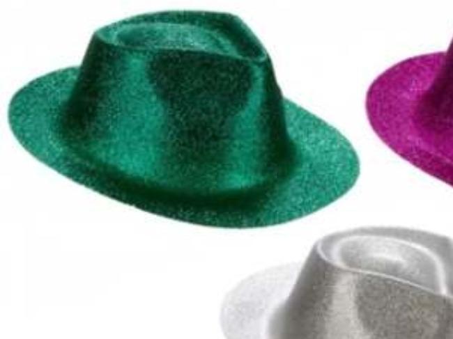 1 sombrero gorro cowboy vaquero gibre brilloso cotillon · sombrero gorro  cotillon 1eb77c6c2f0