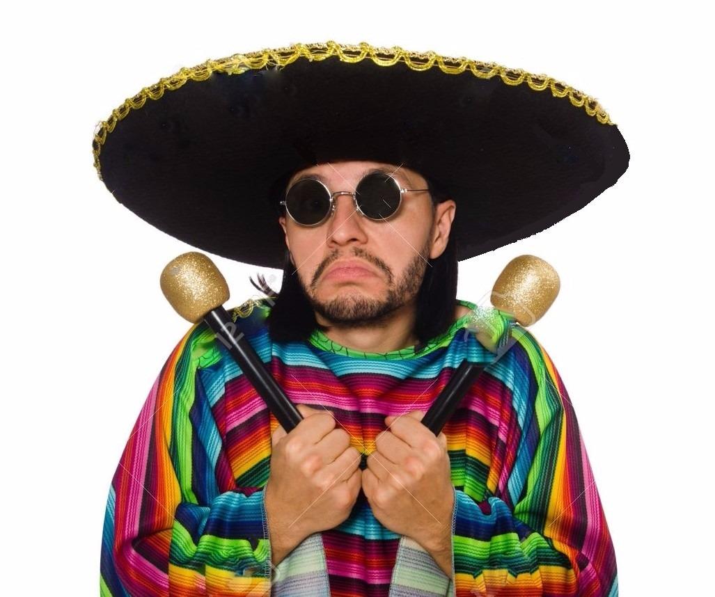 sombrero gorro mariachi mexicano gigante + lentes. Cargando zoom. 821fc4c3df9